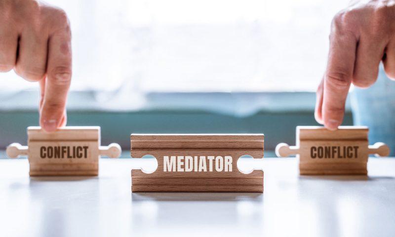 Mediator bij conflict